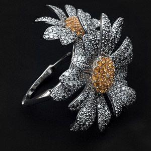 Ромашка кольцо