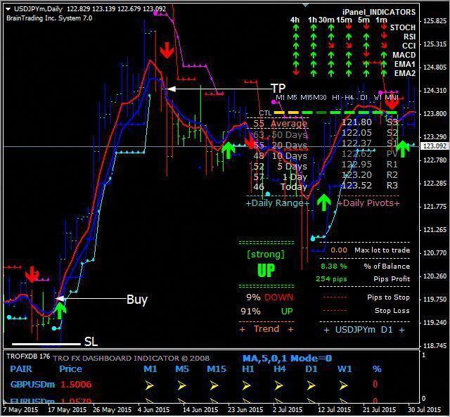 Care sunt indicatorii în tranzacționare. Indicatori de Scalping. Indicatori de trend