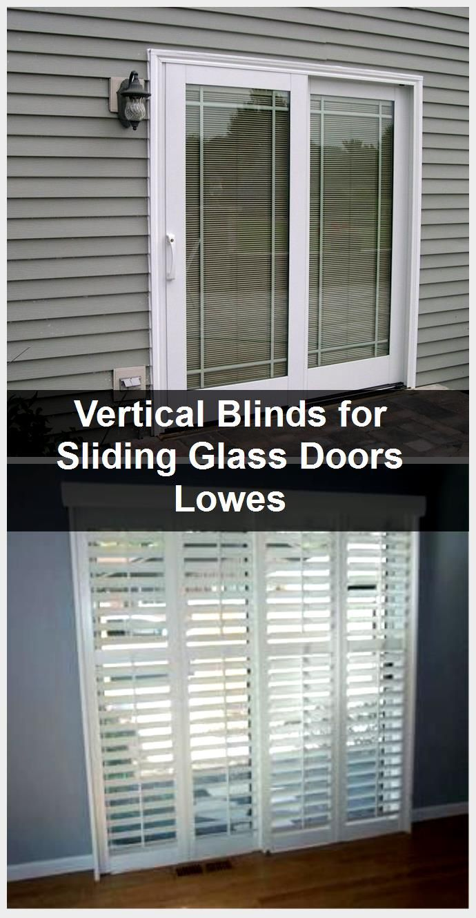 Vertical Blinds For Sliding Glass Doors Lowes 2020 Goruntuler Ile