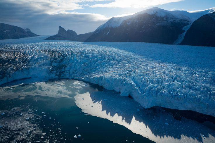 NASAfunded study says glacier shape matters and