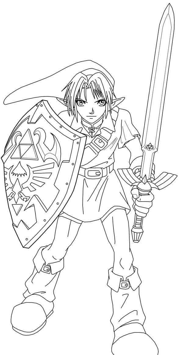 Line Art Zelda : Best images about lineart zelda link on pinterest