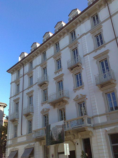 Decorazione architettonica, cornici da esterno