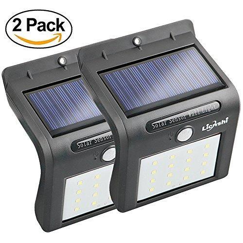 Oferta: 25.99€ Dto: -63%. Comprar Ofertas de Licwshi Solar Lights 16 LED inalámbrico sensor de movimiento de agua al aire libre para patio, cubierta, jardín, jardín con a barato. ¡Mira las ofertas!