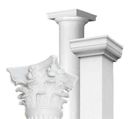 Fiberglass Columns - Worthington Millwork                                                                                                                                                                                 Plus