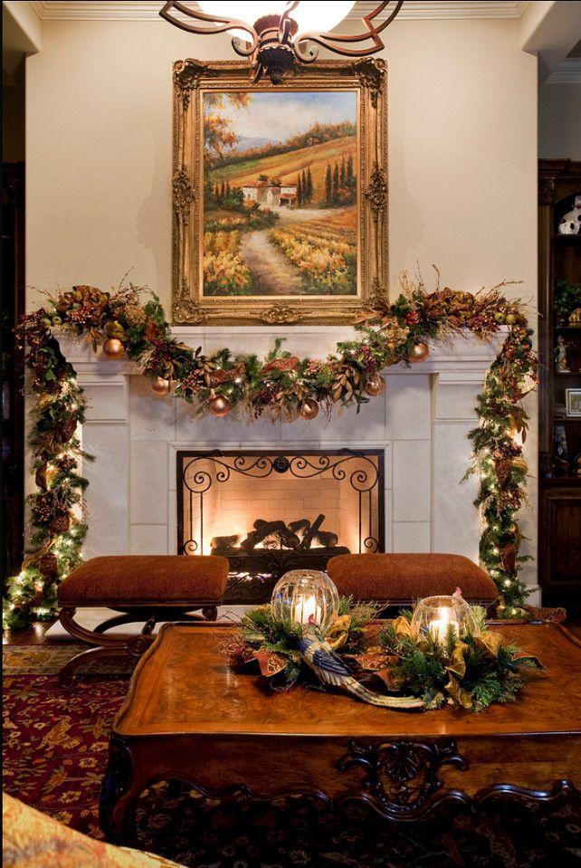 Luxury Christmas Home Decor: Interior Design Ideas: Christmas Decorating Ideas