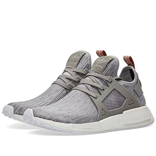 Adidas Womens NMD XR1 Prime Knit (7.5, Clear Onix/ Pink)