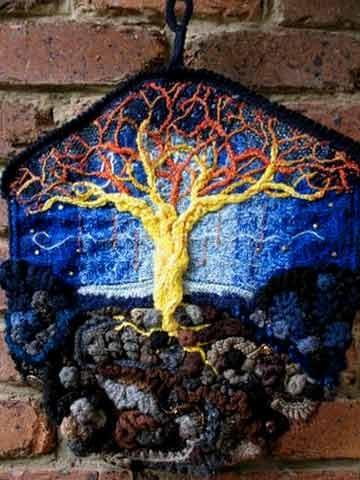 Hang-ups! - travelling freeform crochet exhibition - Prudence Mapstone - Picasa Web Albums