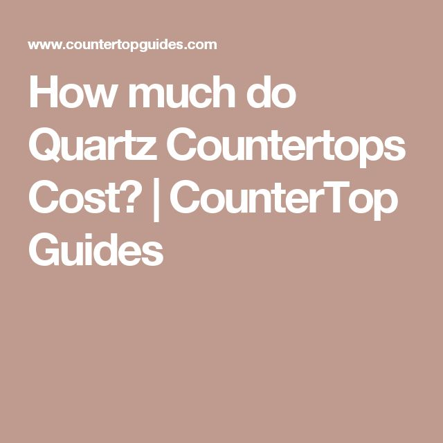 how much do quartz countertops cost countertop guides