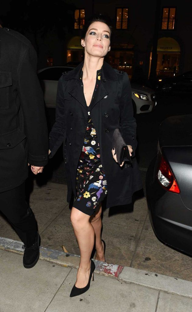 Jessica Pare Leavies the Mad Men Book Party in Beverly Hills 02/23/2017-1