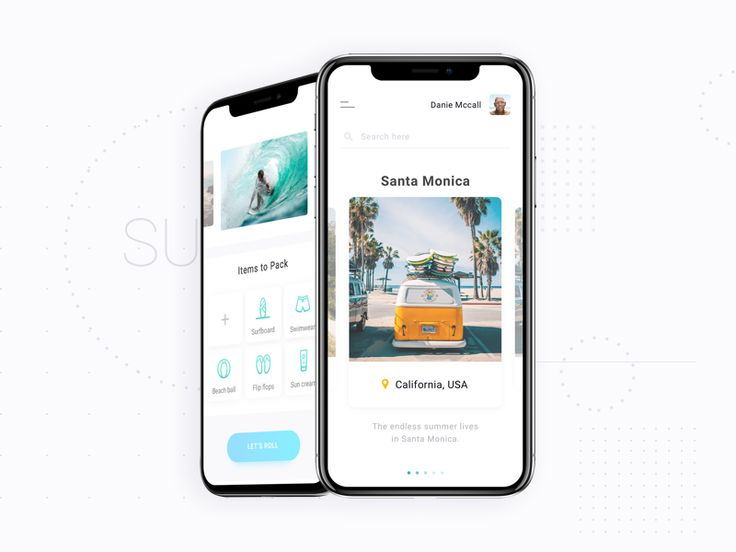 Travel app (Surfing) by Tim Pleiko-Izik