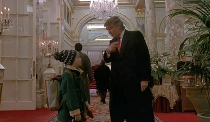Donald Trump in Home Alone 2 | Home Alone | Pinterest | To ...