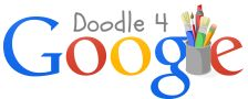 "2014 Doodle 4 Google competition"" One talented young artist will see his or her artwork on the Google homepage and receive a $30,000 college scholarship and a $50,000 Google for Education technology grant for his or her school."
