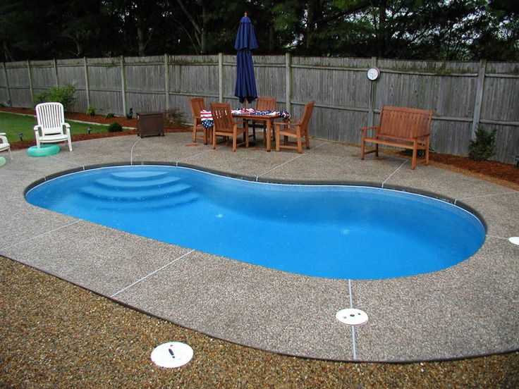 17 best ideas about fiberglass pool prices on pinterest - Prices of inground swimming pools ...