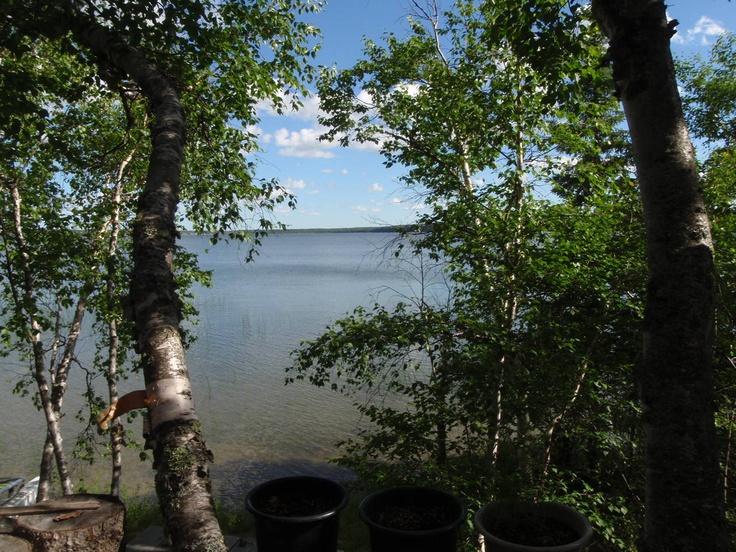 SASKATCHEWAN | The perfect view from the cabin, Christopher Lake, Saskatchewan