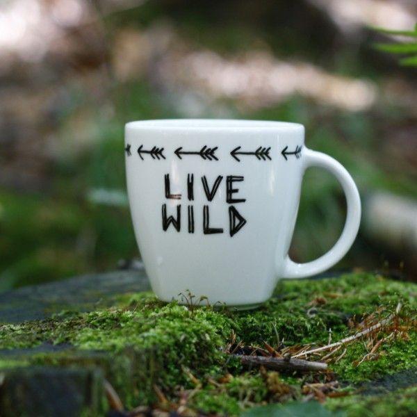 Kubek Live Wild   Make My Wonderland