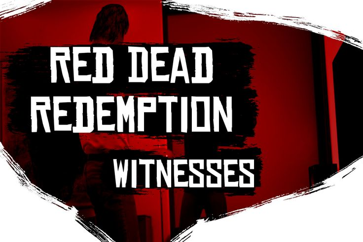 GTA V Gets RDR's Witness System