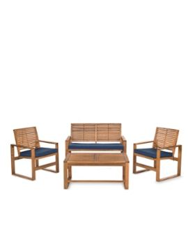 Ozark Outdoor Set (4 PC) from Parisian Garden Style: Furniture, Accents & Art on Gilt