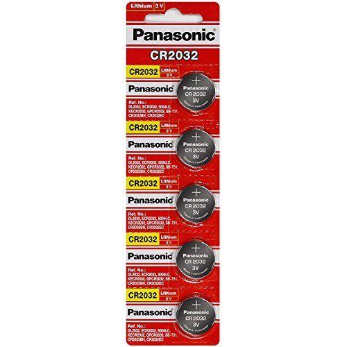 Panasonic CR2032 3 Volt Lithium Coin Battery (10 pcs) //Price: $5.74 & FREE Shipping //     #hashtag4