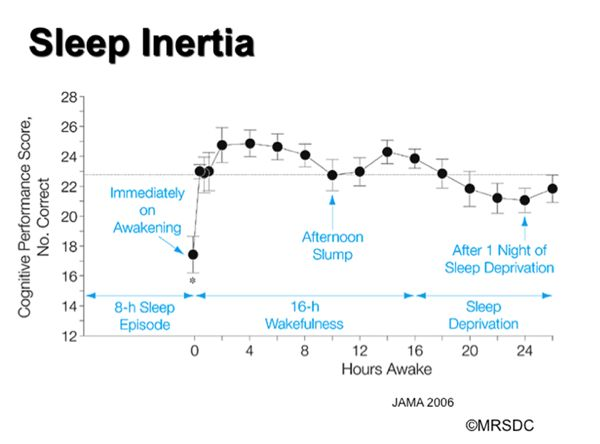 How Naps Affect Your Brain and Why You Should Have One Every Day: Sleeping for the wrong length of time can give you sleep inertia—that feeling of waking up groggy and even more tired than you were before.