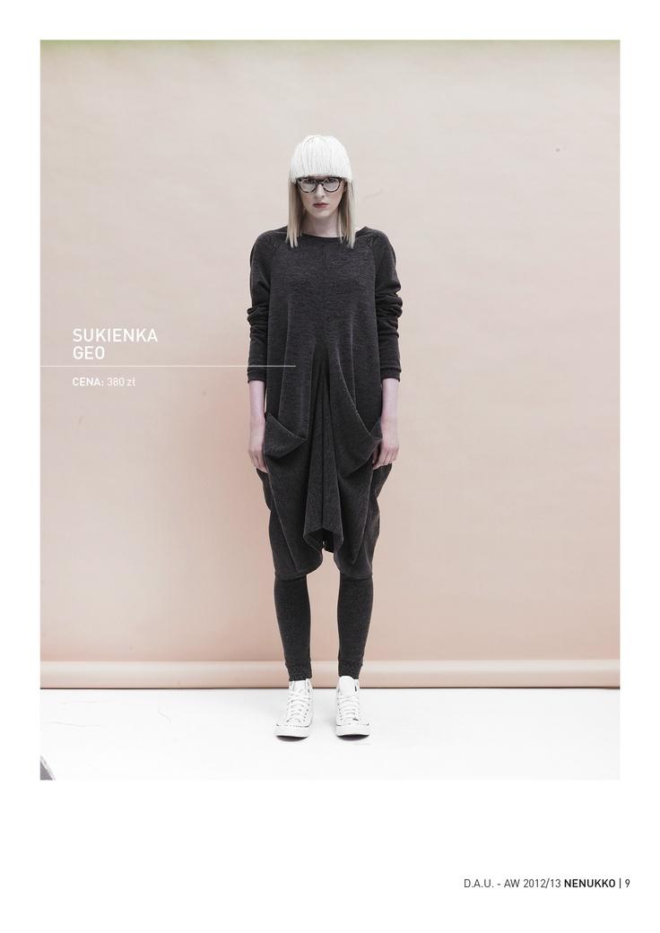 GEO dress D.A.U. collection   http://nenukko.com/shop/