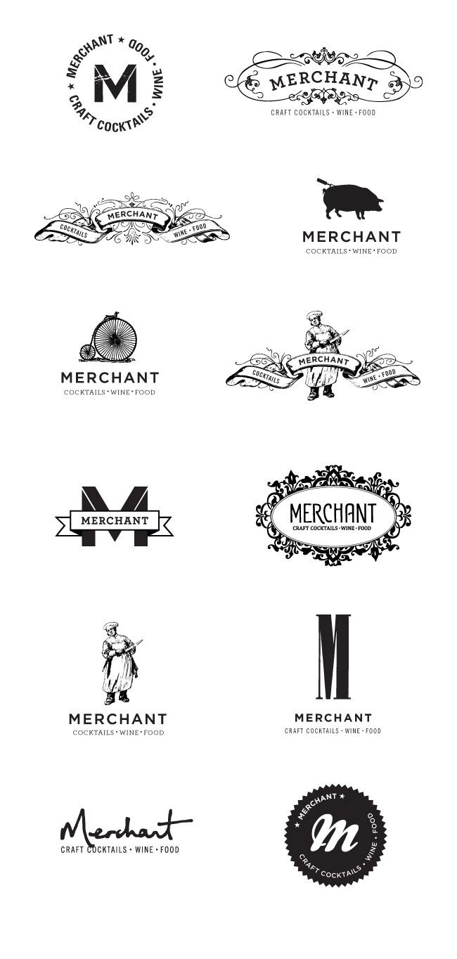 very different logo styles for the same company - logo studies