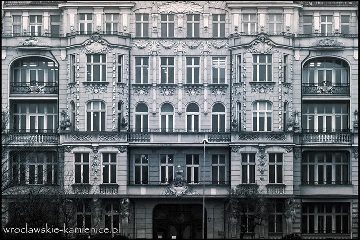 ul. Podwale  #Wroclaw #Breslau #Poland #architecture #tenement