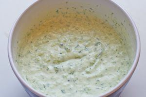 ... Worlds Best Tzatziki Sauce Recipe - Greek Yogurt and Cucumber Sauce