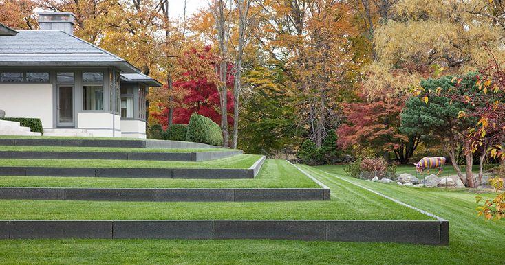 Terraced Lawn, Stephen Stimson Associates | FERNWOOD