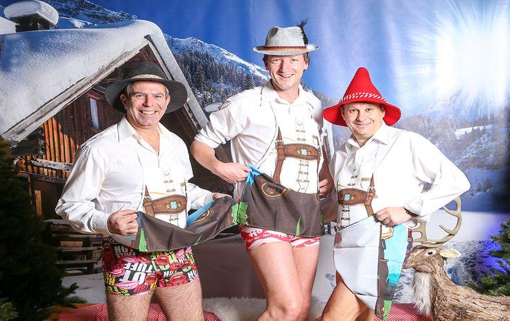 Trio burlesque : Il n'y a pas que le grizzly que vous risquez de croiser dans la montagne mais aussi ces trois drôles de personnages qui animeront votre soirée comme jamais !