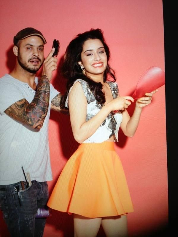 Unseen Pics: Shraddha Kapoor on the sets of her Cosmopolitan covershoot