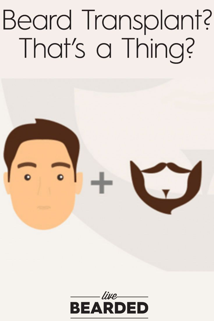 Beard Transplants? That's a Thing? Find Out About the Procedure and Other Alternatives | Bearded Men |