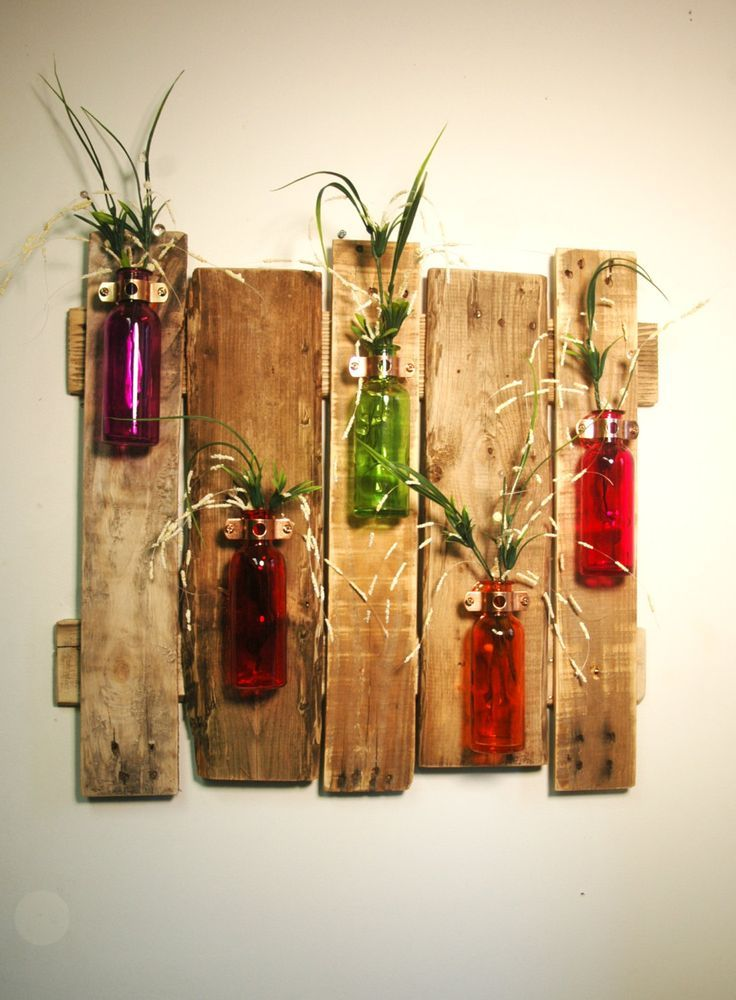 Gorgeous colored bottle in different shapes and sizes