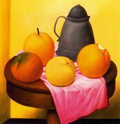 Naturaleza Muerta con Frutas, 1989. Fernando Botero (1932- ).