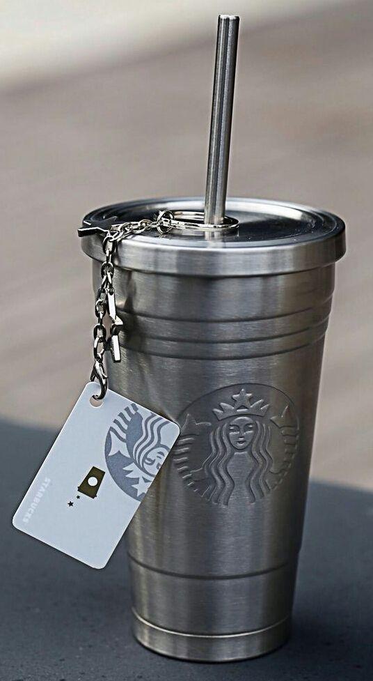 Accessories of the week - the metallic Starbucks mug