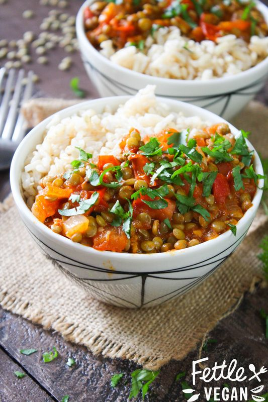256 best indian images on pinterest vegan desserts vegetarian masala lentils from the new vegan richas indian kitchen cookbook enter to win forumfinder Images