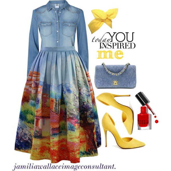 A fashion look from January 2015 featuring Vero Moda tops, Chicwish skirts and Schutz pumps. Browse and shop related looks.