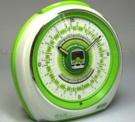Yamanote line alarm clock - it can play the songs from each station on the Yamanote line in Tokyo...and I can't find it anywhere anymore :(
