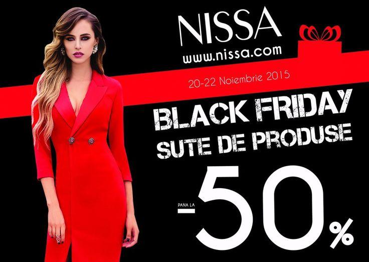 Black Friday este cea mai importanta zi de reduceri a anului, aducand, in 2014, in magazinele NISSA, mii de cliente, online si offline, in cautarea produselor NISSA cu cel mai mic pret si ce...