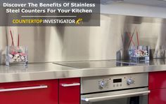 Stainless Steel Countertops – Here Are The Pros And Cons