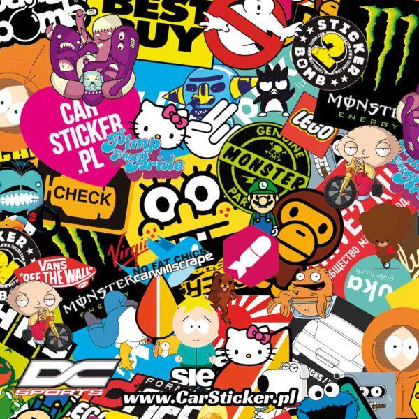 Sticker bomb #sticker #bomb #stickerbomb