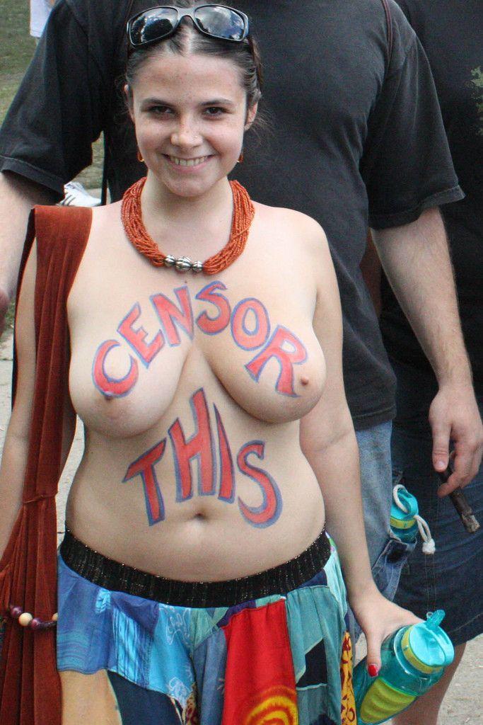 Body Painting Big Tits