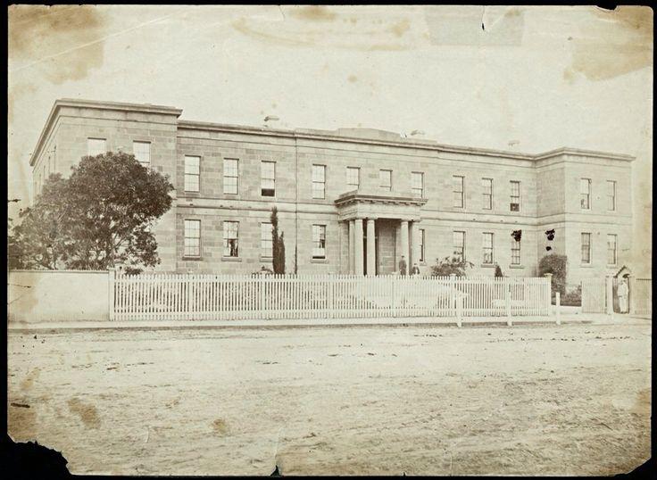 Geelong Hospital Ryrie St ?? 1800's