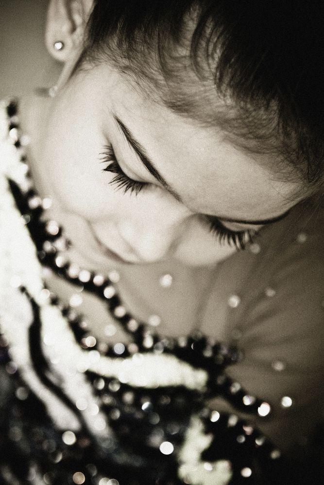 Portrait of young gymnast by Svetlana Gileva