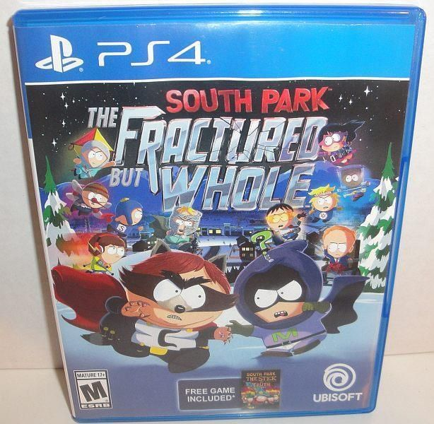 PS4 SOUTH PARK FRACTURED BUT WHOLE VIDEO GAME 2016 SONY PLAYSTATION 4