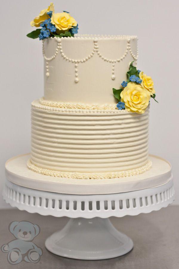 buttercream wedding cakes pictures | Buttercream Wedding Cake ...