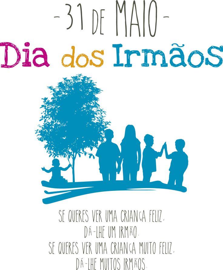 Dia dos Irmãos | 31 de Maio | APFN - Associação Portuguesa de Famílias Numerosas
