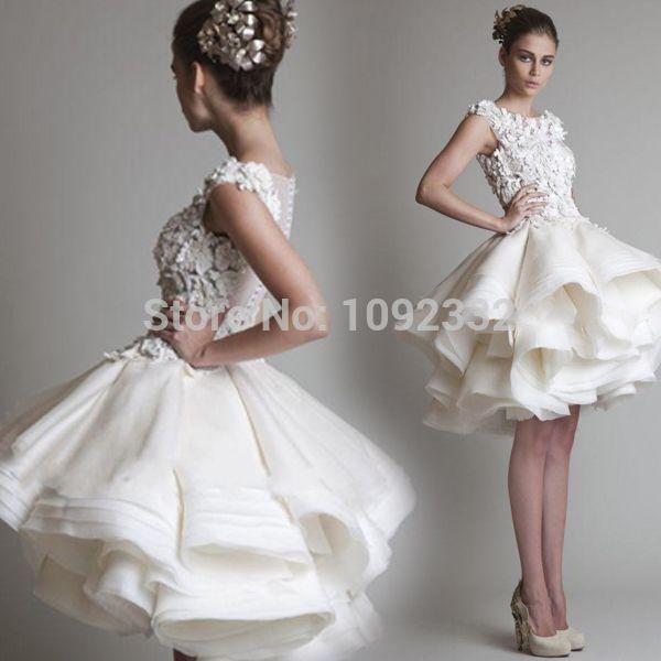 Barato Z Zipper mangas Lace tanque Scalloped joelho de comprimento vestido de baile vestido curto 10050, Compro Qualidade Vestidos de noiva diretamente de fornecedores da China:   [Xlmodel]-[Produtos]-[6436]  [Xlmodel]-[Produtos]-[6436]   Mais popular          W estoque 2015 novo plus size vestido