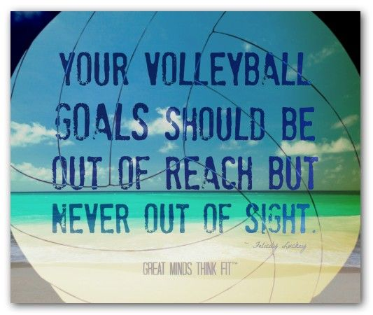 Volleyball quote
