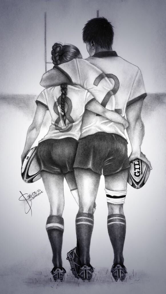 Rugby Love   Made by: @LaetiSennavoine  #playRugby