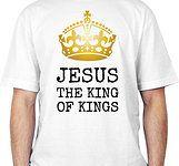Camisetas Nova Atitude - Camisetas Gospel, Cristã e Evangélicas Camisa Jesus the King of King www.camisetasnovaatitude.com